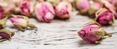 Tea rose buds by grafvision. Flower tea rose buds on old wooden table Drying Roses, Flower Step By Step, Rose Oil, Flower Tea, Nature Crafts, Tea Roses, Flower Crafts, Rose Buds, Potpourri