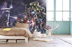 Poster mural MARVEL AVENGERS CITYNIGHT 254 x 184 cm