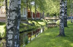 Travel Finland with a Eurail pass! Discover trains, routes, and the best places to visit in Finland. Plan your trip with Eurail! Cool Places To Visit, Places To Go, Wooden Architecture, By Train, Plan Your Trip, Old Town, Finland, The Good Place, Summer Europe