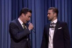 Must Watch: Justin Timberlake and Jimmy Fallon Rap Battle