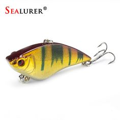 7cm 16g Hard Fishing Lure VIB Rattlin Hook Fishing Sinking Vibra Rattlin Hooktion Lures  Crank Baits ** Cliquez sur le bouton de VISITE pour en savoir plus