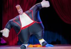 Superstar clown Bello Nock stages his first solo show at the New Victoria Theater