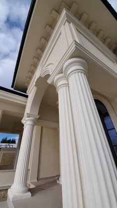 Proiect Casa Rezidentiala Bacau 2 – Profile Decorative Exterior, Curtains, Modern, House, Design, Home Decor, Houses, Prague, Blinds