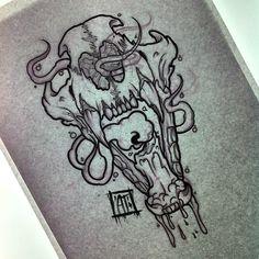 Bear lantern (taken) :D #tat #tattoo #tattooflash #tattoosketch #ink #inked…