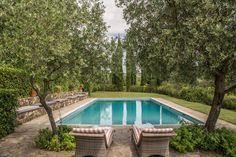 pool at Camilla Guinness' Arniano