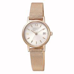 MARGARET HOWELL idea マーガレット・ハウエル アイディア ラウンド ピンクゴールド 腕時計 BK2-062-31: TiCTAC|腕時計の通販サイト【チックタックオンラインストア】