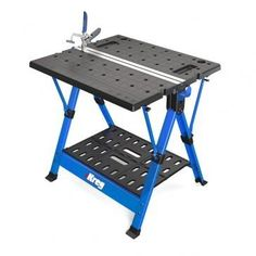 Kreg KWS1000 Mobile Project Center A clamping station and sawhorse in one—folds up for easy portability!