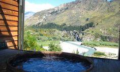 Onsen Hot Pools in Queenstown, Nieuw-Zeeland www.onsen.co.nz