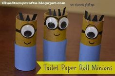 @Amber.... Toilet paper roll minions