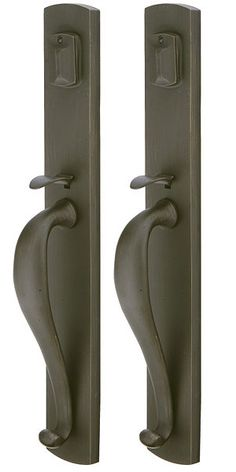 Bon Emtek Entry Handlesets   Emtek Creston Grip By Grip Sandcast Handleset  Available In Several Finishes To Coordinate With Your Other Door Hardware.