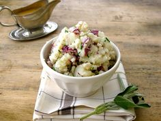 chive smashed potatoes