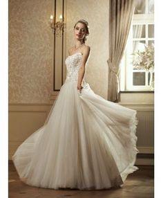 Vestito da Sposa di tulle economico all ingrosso pagamento anche in  contrassegno. Vestito da Sposa economico a Sirena per Grossisti online ... d92a052a732