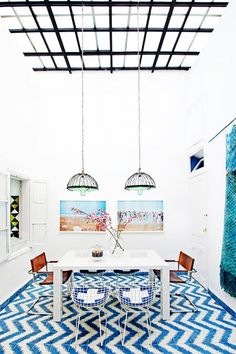 Eclectic Moroccan Dining Room