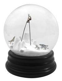 I want a Martin Munoz snow globe!!! Traveler 289, 2012 ©Walter Martin & Paloma Muñoz