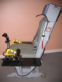 TM Warthog Glider Rocker Sim Seat Mod   Flight Sim Pit Builders   SimHQ Forums