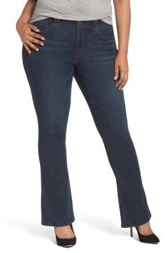 526bb16386ef2 Main Image - Wit   Wisdom Ab-solution Itty Bitty Bootcut Jeans (Plus Size