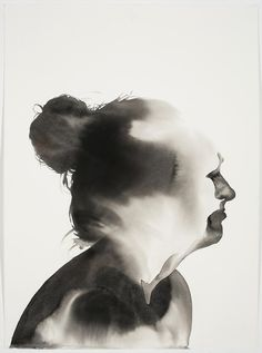 Samantha Wall's Abstracted Ink Portraits Explore The Complexity Of Emotion