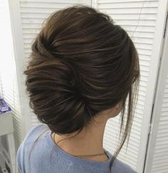 French Twist Updo For Long Hair