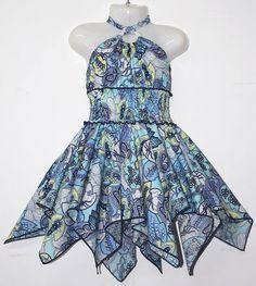 LL182-14-31 Girls 2-8 Cotton Dress