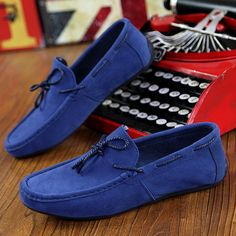 Mens Classic Style Leisure Loafer Driving Shoes
