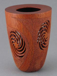spin out 1 mahgony carving