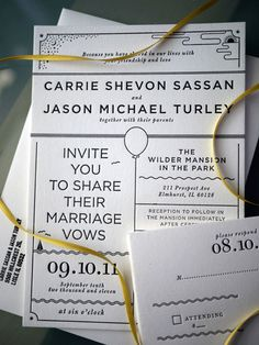 #letterpress wedding invitations