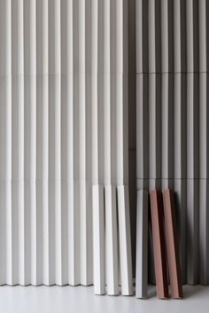 Buy online Rombini triangle white By mutina, indoor porcelain stoneware wall cladding design Ronan & Erwan Bouroullec, rombini Collection Stone Wall Design, Tile Design, Textures Murales, Art Deco Paris, Beton Design, Material Board, Tiles Texture, Interior Walls, Wall Cladding Interior