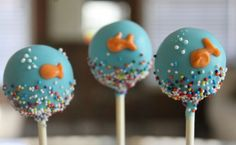 Under The Sea Cake Pops Ocean Cake Pops by Dolcecreativesweets, $26.00