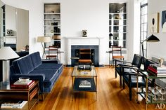 In love with Thom Browne's apartment featured by Architectural Digest