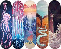 Decks. One for All by Sadmonster. via Tumblr.