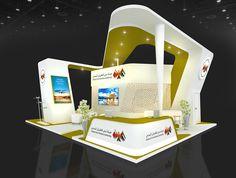 DUBAI CIVIL AVIATION AUTHORITY STAND on Behance