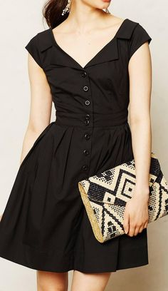 Im not the biggest fan of shirt dresses; it depends on the style.  But I am loving this Anthropologie  Astrid Shirtdress!!