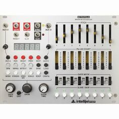 Intellijel Metropolis Complex Multi Stage Pitch & Gate Sequencer Eurorack Module in Musical Instruments, Pro Audio Equipment, Synthesisers & Sound Modules | eBay