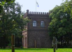 Blau-Gold-Turm im Leo-Amann-Park >>>Köln-Ehrenfeld