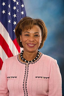 """Congresswoman Barbara Lee - the only member of Congress to vote against the Authorization to Use Military Force (AUMF) language drafted in the days following 9/11.  That language became the legal foundation for the """"war on terror"""".  Her office was deluged with death threats and hateful criticism in the weeks following her vote.  Now, with ten years of Guantanomo Bay, Iraqi war, and drone strikes - her wisdom, courage and foresight is beyond inspiring."""