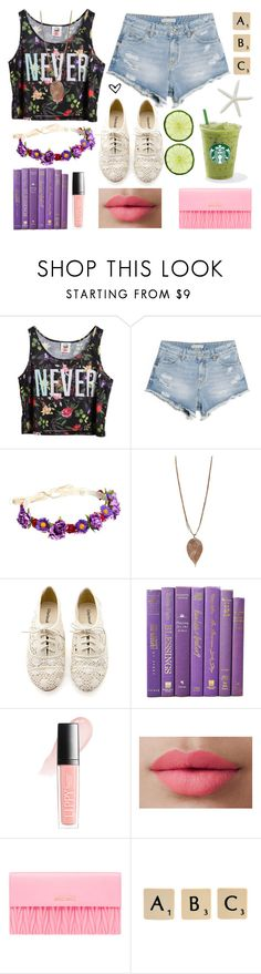 """Summer Lovin'"" by rayrayhatcher ❤ liked on Polyvore featuring Chicnova Fashion, MANGO, ASOS, Humble Chic, Butter London, LORAC, Miu Miu, Rock 'N Rose and raycreations"