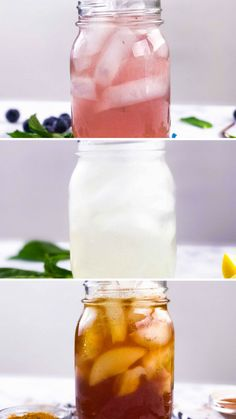 Keep your body cool while you enjoy the most delicious way to detox, using ingredients you probably already have on hand. water recipes basil 3 Detox Iced Teas for the Summer Healthy Detox, Healthy Smoothies, Healthy Drinks, Smoothie Recipes, Healthy Eating, Easy Detox, Healthy Water, Food And Drinks, Lunch Smoothie