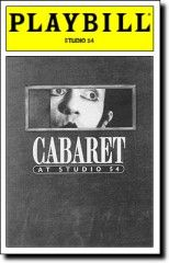 Cabaret @ Studio 54 wish I was there Broadway Plays, Broadway Theatre, Musical Theatre, Broadway Shows, Goodbye To Berlin, Susan Egan, The Threepenny Opera, Broadway Posters, Movie Posters