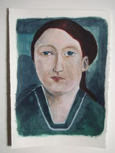 Historical portrait original art Catharina by IsabellaDiSclafani, $60.00