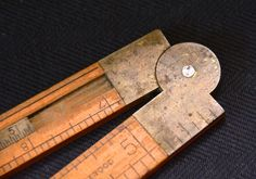 Folding carpenter's ruler. Gulf Coast Trader - Online, Estate and Inventory Consignment Sales