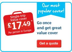 Get family, worldwide and single trip travel insurance quotes online from Argos.co.uk, visit now to find out more.