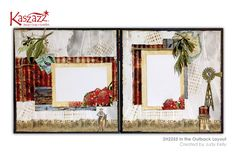 Kaszazz > Projects Gallery > Workshops - In the Outback Layout - Kaszazz Scrapbook Designs, Scrapbooking Layouts, Scrapbook Pages, Door Prizes, Australia Travel, Finding Yourself, Workshop, Paper Crafts, Stamp