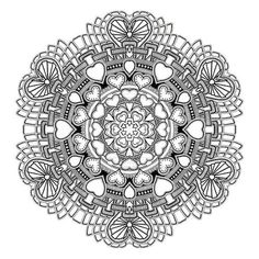 The Mandala Coloring Book by Jim Gogarty | 16 Colouring Books That Are Perfect For Grown-Ups