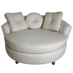 1stdibs - Oversized Round Lounge Chair explore items from 1,700  global dealers at 1stdibs.com