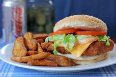 Chicken Chipotle Burger