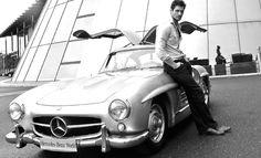 Love the car!!!  Mercedes-Benz 300SL Gullwing Coupé car review - David Gandy; GQ.COM (UK)