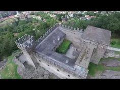 Castello Sasso Corbaro - Bellinzona, Switzerland - Drone Pixaround - YouTube