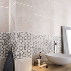 salle de bains blanc beige naturel artens