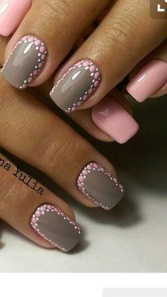 May Nails, Pink Nails, Hair And Nails, Nail Art Design Gallery, Best Nail Art Designs, Manicure E Pedicure, French Pedicure, Super Nails, Cool Nail Art