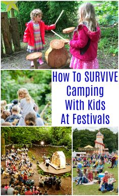 How To SURVIVE Camping With Kids At Festivals This Summer #festivals #campingwithkids #familyfestivals